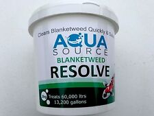 Aqua Source Blanketweed Resolve.Free P&P Fast Acting Blanket Weed Treatment.2kg