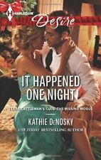 It Happened One Night (Harlequin Desire) by DeNosky, Kathie Book The Fast Free