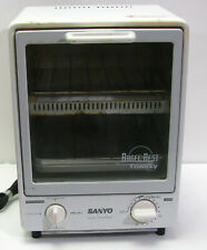 Sanyo Super Toasty Oven SK-7w Space Saving Toaster Oven