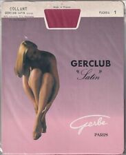 Collant GERBE GERCLUB SATIN 20 deniers Fuchsia ou Turquoise. Tights.