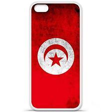Coque housse étui tpu gel motif drapeau Tunisie Iphone 5C