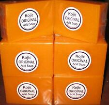 3pcs Papaya Kojic Acid Organic Herbal Soap Bars for Skin Whitening Bleaching