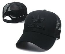 Adidas Men's Originals Tech Mesh Trefoil Snapback Flatbrim Cap Hat