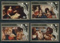 Burundi Scott #629-632 MNH Christmas 1984 Paintings Art CV$32+