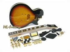 E-Gitarren-Bausatz ML-Factory® MLP custom-Style Tobacco Sunburst