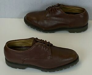 Churchs 2000 Leather Derby Smart Mens Shoes Brown UK 8 EU 42 Hand Made in UK
