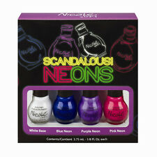 Nicole by OPI Scandalous Neons 4 Mini Nail Polish Set