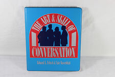 The Art & Skill of Conversation 4-Cassette Study Course ~ Fritz & Rosenblatt