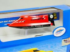 Remote Control RC Micro F1 SPEED BOAT MINI RC Formula Boat - RED - 2.4GHz