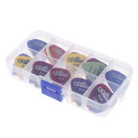 50 Guitar Picks Acoustic Electric Bass Pic Plectrum Mediator Musical Instrumen I