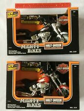 New ListingHarley Davidson Fat Boy & Softail Motorcycle Lot Toy New Bright Lights & Sounds!