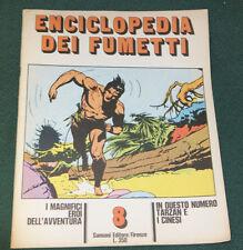 ENCICLOPEDIA DEI FUMETTI #8 ITALIAN COMIC CARTOON MAGAZINE FINE 1970