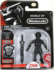 World of Nintendo ~ SHADOW LINK ACTION FIGURE ~ The Legend of Zelda ~ Jakks