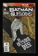 Batman And The Outsiders # 12 (DC 2008 VF) $5 Unlimited Combined Shipping!