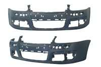 FRONT BUMPER BAR COVER FOR VOLKSWAGEN GOLF MK5 2004-2008