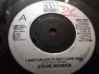 """STEVIE WONDER """" I JUST CALLED TO SAY I LOVE YOU """" 7"""" SINGLE VERY GOOD 1984"""