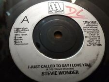 "STEVIE WONDER "" I JUST CALLED TO SAY I LOVE YOU "" 7"" SINGLE VERY GOOD 1984"