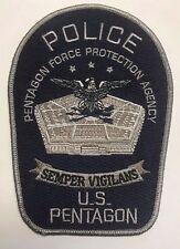 US Pentagon Force Protection Agency Embroidered Cloth Patch