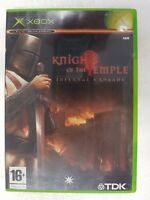 MICROSOFT XBOX CLASSIC KNIGHTS OF THE TEMPLE : INFERNAL CRUSADE