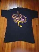 Vintage Marlboro Adventure Snake Pass T Shirt Size Xl Black Ss Pocket Tee 90's