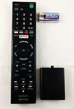 OEM Sony Remote RMT-TX100U OEM Cleaned Tested w/ Batt SN225