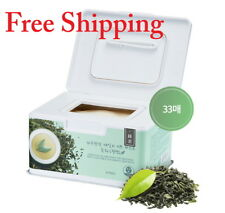 A'PlEU Daily Sheet Mask Green Tea(Soothing) 33 Sheets  / K - Beauty