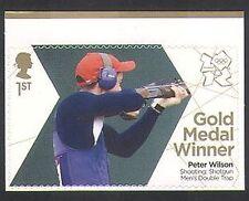 GB 2012 Olimpiadas/Deportes/ganadores de medalla de oro/disparos/Shotgun/P Wilson 1v (n35467)
