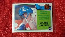 1983-84 OPC O-Pee-Chee NHL Hockey Wayne Gretzky Card #215 NICE Edmonton Oilers