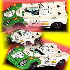 Porsche 908/2 Flunder Nürburgring 1970 #17 Basche Werlich 1:43 Best Model