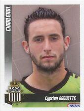 N°085 CYPRIEN BAGUETTE BELGIQUE SPORTING CHARLEROI STICKER PANINI FOOTBALL 2011