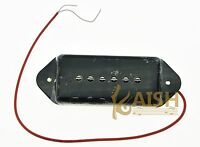 Black P90 High Power Sound Dogear Type NECK Pickup Soapbar Guitar Pickups