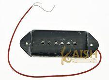Black P90 High Power Sound Dogear Type NECK Pickup Soapbar Guitar Pickups
