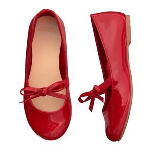 NWT Gymboree North Pole Party Red Flats Dress shoes Toddler girls ManySizes