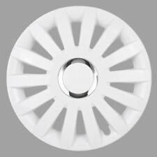 16'' Wheel trims hubcaps for Vauxhall Vivaro - WHITE - SET OF FOUR 16''