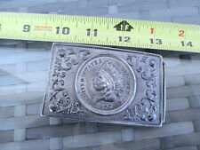 Steel Western Style United States of America Indian Head Penny Design Buckle