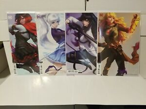 RWBY #2 ,#3, #4 AND #5 D.C. COMICS 2019 COVER ART BY STANLEY LAU ARTGERM NM🔥