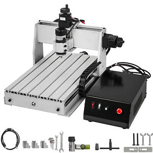 VEVOR 3 Axis CNC Router 3040 Engraving Milling Machine Chrome Shaft Durable USB
