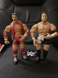TNA Impact Wrestling Marvel Figure Lot Sacrifice Samoa Joe & AJ Styles WWE