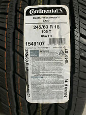 1 New 245 60 18 Continental Conti Cross Contact LX20 Tire