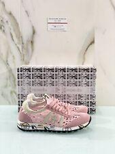 Premiata Lucy-D 1414E  Donna In Suede  Rosa Casual Sneaker Premiata Donna 37