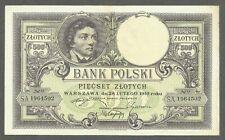 Poland 500 Zlotych 1919 UNC