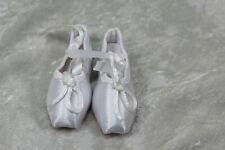 1/3 BJD girl SD ballet shoes slippers toe shoe Doll ABJD Dollfie Toy White