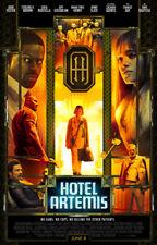 HOTEL ARTEMIS MOVIE POSTER 2 Sided ORIGINAL 27x40 JODIE FOSTER SOFIA BOUTELLA