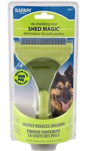 Shed Magic De-Shedding Tool removes loose hair undercoat for Dogs