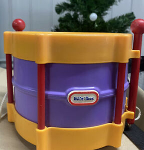 Little Tikes Drum And Sticks Musical Instrument Educational Toy 12m+ Baby/Kids
