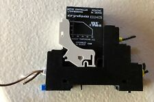 Crydom DIN Mount SSR Solid State Relay W/ Base ED24C5 Motor Controller DRSED 5A