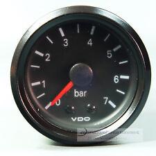 VDO MANOMETER beleuchtet  mechanischer DRUCKANZEIGER  0 - 7 bar  PRESSURE GAUGE