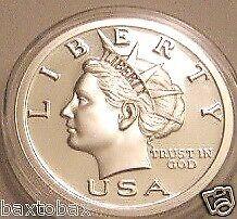2005 $20 LIBERTY DOLLAR 1 oz FINE SILVER *BU SEMI-PROOF ~Pre FBI Raid & Closure~