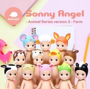 Genuine Sonny Angel Animal Series 2 kawaii collectible figure kewpiedoll gift