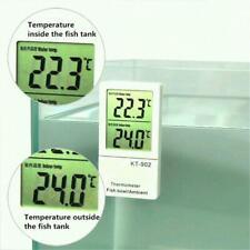 Mini Aquarium Thermometer LCD Digital Display Fish Tank Water Temperature f